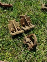 Large lot of Vintage Farm Tractor  Parts and  More