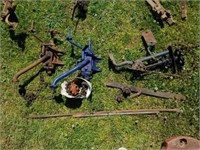 Lot of Vintage Farm Tractor Tools Parts and Misc.