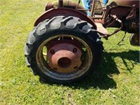 Vintage McCormick Tractor Not Running - Parts Only