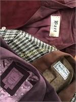 Three Designer Vintage Ladies Jackets