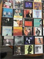 A Variety of Music CDs