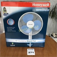 "Honeywell 16"" Oscillating Stand Fan"