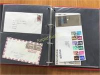Binder With Stamps & Envelopes