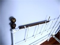 Wrought Iron Brass Bed