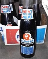 Clemson Commemorative Pepsi Bottles