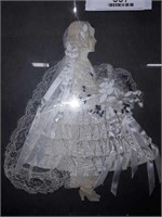 Vintage Ribbon Art Bride