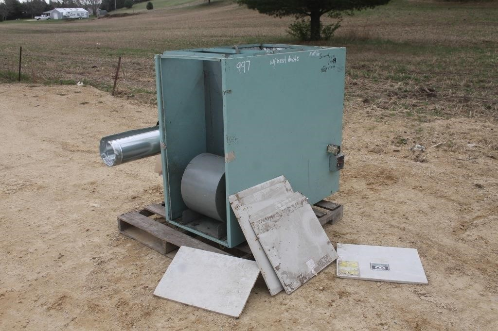WILLIAMSON TEMP-O-MATIC OIL FIRED FURNACE | SPENCER SALES spencer sales