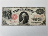 Vintage United States Paper Currency