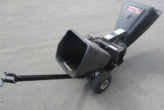 Yard Machine 3 Way Chipper Shredder W