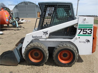 BOBCAT 753 Auction Results - 293 Listings | MachineryTrader