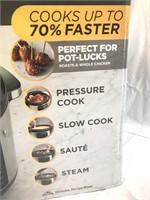 NEW Crock Pot Express Crock 8qt  Multi-Cooker