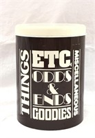Things, Odds and Ends, Goodies, Music. Etc. Tin