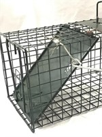 24in Humane Small Animal Trap Steel Cage