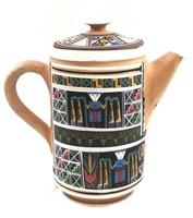Peru Artisan Clay Teapot