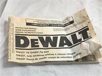 DEWALT DW331 VS Orbital Jug Saw LIKE NEW!