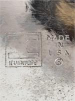 Vintage Irvinware Chrome Serving Tray