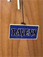 Baltimore Ravens Wind Chime
