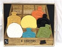 Vintage Stotter Settings Foam Backed Coaster Set