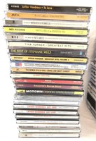 Large Lot of 87 Music CD's.
