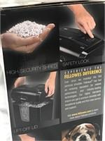 NEW Fellows Paper Shredder Power Shred 8MC
