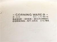 Corning Ware 9 Inch Pie Plate Blue Cornflower