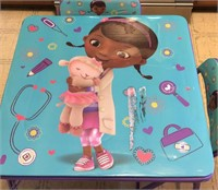 Doc McStuffins And Lambie Table And Chairs