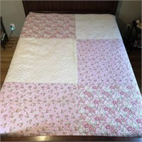 Double Sided Queen Size Quilt