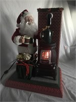 1994 Motion Santa by Cookstove w/Christmas Music