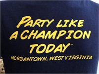 Party Like A Champion Today WVU T-Shirt