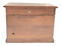 Wood Dresser Musical Jewelry Box