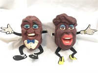 Vintage California Raisins Finger Puppets