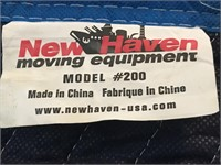 (2) New Haven Packing Blankets/Pads LIKE NEW!