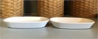 (2) Corning Ware Side Kick Dishes