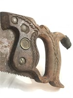 DISSTON 26in Hand Saw VERY NICE!