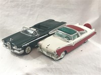 1955 Ford Fairlane & 1958 Edsel Citation 1:43