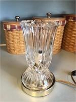 Vintage Lead Crystal (?) Lamp