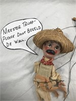 Antique Marionette Puppet Mexican Hispanic