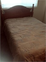 Highboy Queen Bed With Mattresses