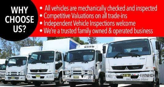 2016 Hino 500 Series 1728 GH XX Long City Hino - Trucks for Sale