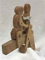 Hand Made Wooden Motion Puppets SEE VIDEO!