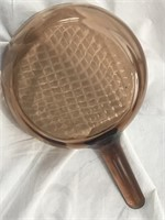 Pyrex Visions 7.25in Fry Pan w/Waffle Bottom