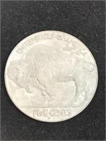 (2) Large 3in Coins Buffalo Head Nickel & Dollar