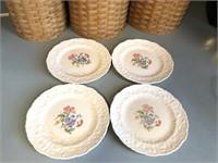 Vintage Pope-Gosser USA Rose Point Dishes