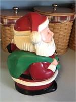 Vintage Talking Santa Cookie Jar