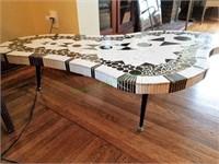 Mid Century Tile Table