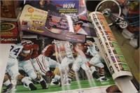 Lot of Various Posters,Nascar,Football,etc