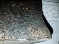Bronzemet Bookends