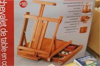 Box Table Easle