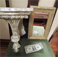 Shelf & Mirror