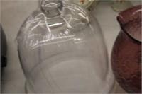 Glass Dessert Keeper & Owl Vase